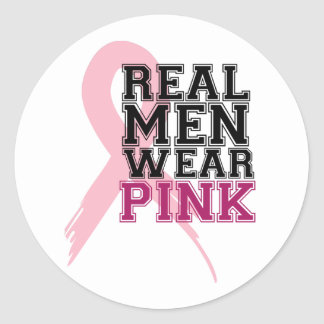 pink_10 classic round sticker
