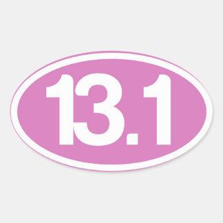 Half Marathon Stickers Zazzle