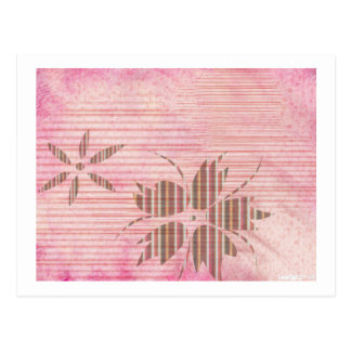 Pink 17 post card