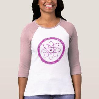 PINK - 1948 Atomic Energy Commission Vintage Logo T-Shirt