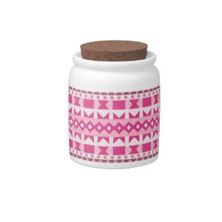 Pink #2 candy jar