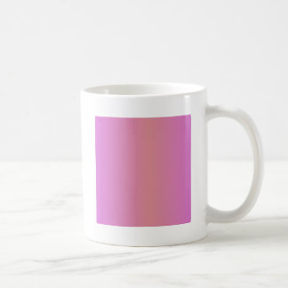 Pink 2 - Ruddy Pink and Orchid Classic White Coffee Mug