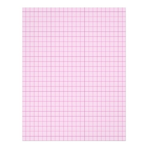 Pink 3201296 Graph Grid Letterhead