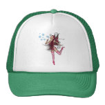 Pink 3D Pixie - Fairy Graphic 1 Hat