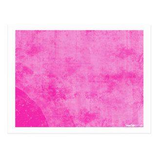 Pink 5 post card
