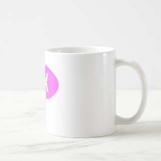 Pink 5K Oval Coffee Mug