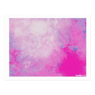 Pink 6 postcard