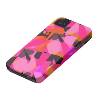 Pink #7 - iPhone 4 Case