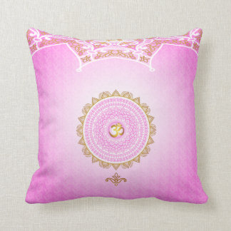 Pink, 7th Chakra, Sahasrana Pillow