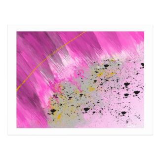 Pink 8 postcard
