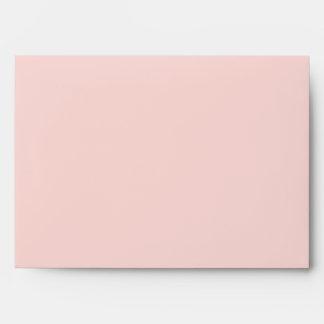 Pink A7 Envelope 5x7