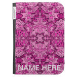 Pink Abatract Kindle Cover