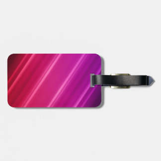 Pink Abstract Art Luggage Tag