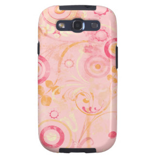 Pink Abstract Art Samsung Galaxy Case Galaxy S3 Cover