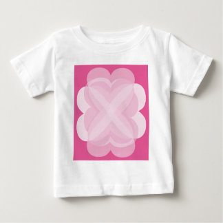 Pink Abstract Baby T-Shirt