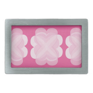 Pink Abstract Belt Buckle