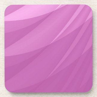 Pink Abstract Blank Background Coaster