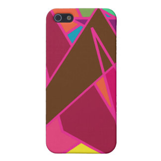 Pink Abstract Cases For iPhone 5
