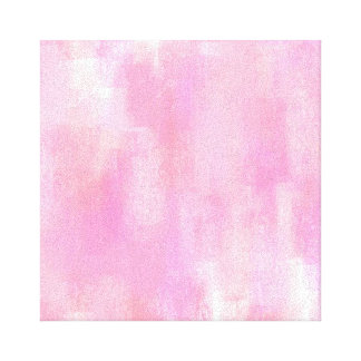 Pink Abstract Digital Painting Canvas
