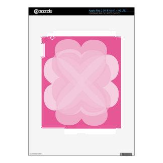 Pink Abstract iPad 3 Skins