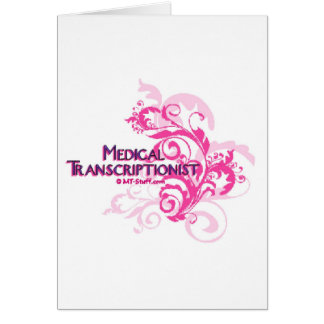 Pink Abstract MT Card