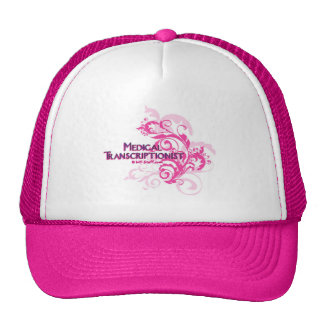 Pink Abstract MT Hats