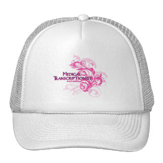 Pink Abstract MT Trucker Hat