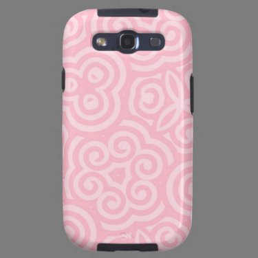 Pink Abstract Pattern Galaxy S3 Cover