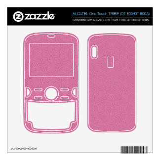 Pink Abstract Pattern ALCATEL Tribe Skin
