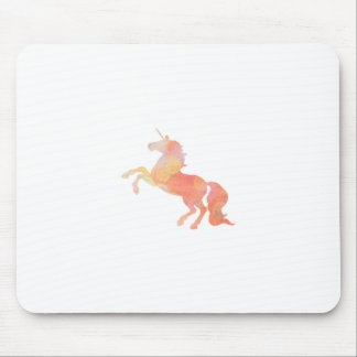 Pink Abstract Soft Lighting Unicorn Mouse Pad