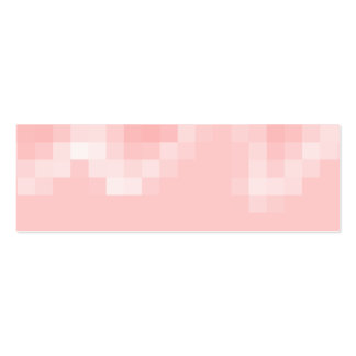 Pink Abstract. Squares in a Wave. Business Card