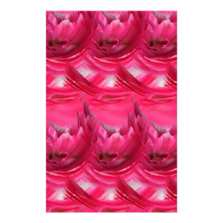 Pink Abstract Stationery