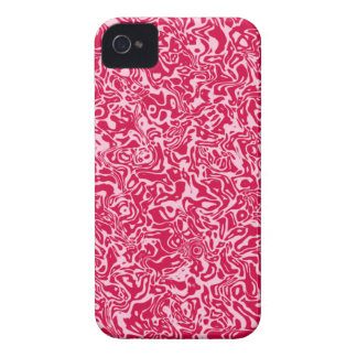 Pink Abstract Swirl iPhone 4 Case-Mate Cases