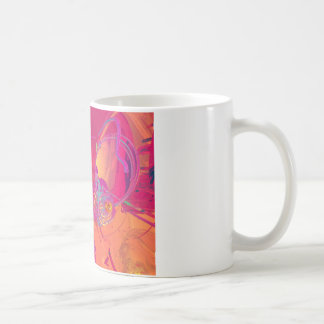 PINK ABSTRACTION COFFEE MUGS
