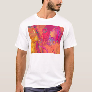 PINK ABSTRACTION T-Shirt