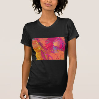 PINK ABSTRACTION T SHIRTS