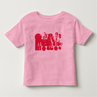 Pink abstracts T-shirts