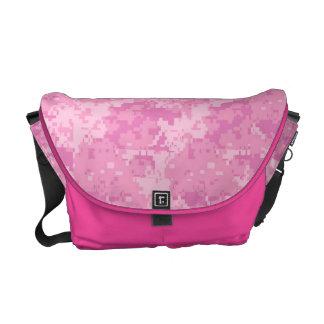 Pink ACU Camo Camouflage Girly Digi Bag Tote Purse Messenger Bags