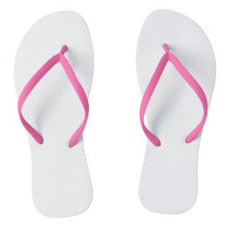 Pink Adult Flip Flops, Slim Straps Flip Flops