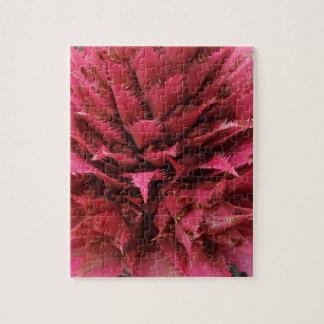 Pink Aechmea Flower Jigsaw Puzzle
