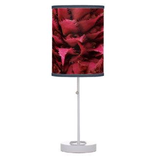 Pink Aechmea Flower Table Lamp