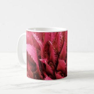 Pink Aechmea Flower  White Coffee Mug