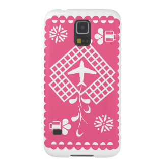 Pink airplane traveling festival phone case galaxy s5 cover
