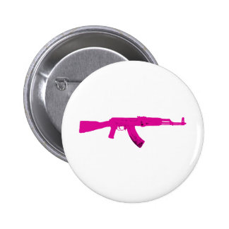 Pink AK-47 Button