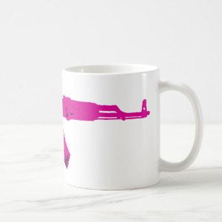 Pink AK-47 Mug