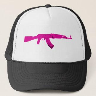 Pink AK-47 Trucker Hat