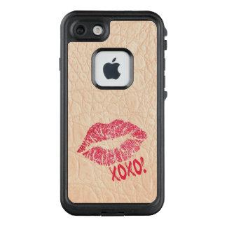 Pink Alligator Animal Skin Print Hide/Selfie Tool! LifeProof FRĒ iPhone 7 Case