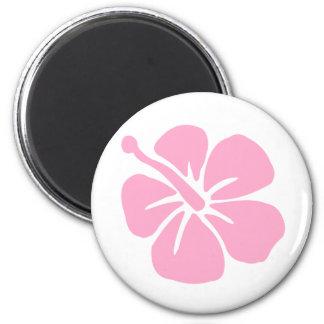 Pink Aloha flower Magnet
