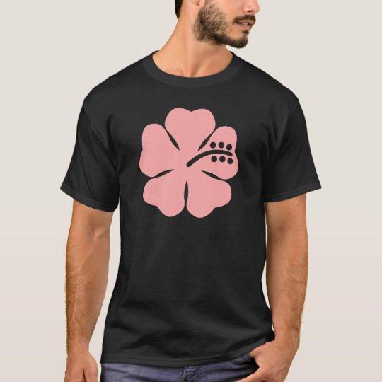 pink aloha flower T-Shirt