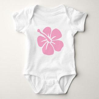 Pink Aloha flower T Shirt
